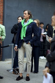 Street style pour homme. This is classic Italian sportswear. Love it!