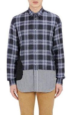 MAISON MARGIELA Patchwork Shirt. #maisonmargiela #cloth #shirt