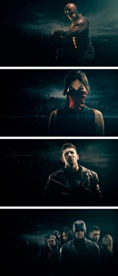 This season has really torn me to shreds mentally, because I find that half the time, I agree with Frank Castle as opposed to Matt Murdock. And the part of me that recognizes that he's a murderer with pretty damn twisted ideals is really disgusted by that, but then there's that part of me that sees what he's been through, and knows that, in his situation, I'd do the same thing he's doing if I could. I bet that's what the writers were going for, and damn, it sure did work.