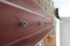 DIY: Exposing a Steel Beam & Fire Protection - Kezzabeth | DIY & Renovation Blog Sponge Rollers, General Construction, Small Tins, Steel Beams, Industrial Interiors, Paint Drying, Surface Area, Home Insurance, Im Not Perfect