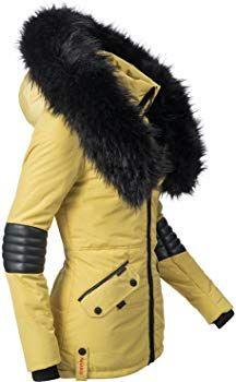 Navahoo Damen Jacke Nirvanavegan Steppjacke Winter bgfyY6mI7v