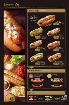 Deco Restaurant, Restaurant Menu Design, Food Menu Design, Food Truck Design, Burger Menu, Menu Layout, Cafe Menu, Diy Food, Hot Dogs