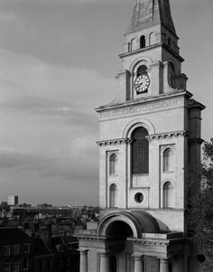 Nicholas Hawksmoor, Churches, London, UK, 18th Century