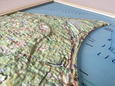 3d Poster, Vacuum Forming, Map, Location Map, Maps