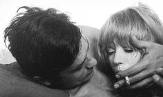 Marianne Faithfull | Alain Delon