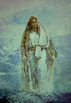Jesus in the Wilderness Images Of Christ, Pictures Of Christ, Bible Pictures, Religious Paintings, Religious Art, Jesus Photo, The Transfiguration, Jesus Face, Prophetic Art