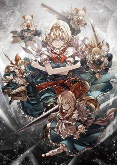 Doll Matrix / ko ぞ u / day head シ . Manga Art, Anime Manga, Anime Art, Kawaii Anime, Game Character, Character Design, Alice Liddell, Fantasy Castle, Beautiful Anime Girl