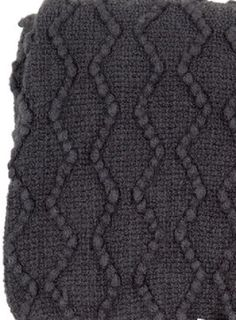 Throw rug charcoal grey zig zag pattern durable acrylic new bobin boutique  Z