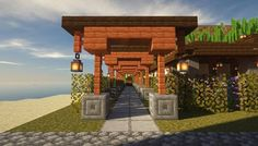 Edi Edi - Explore the best and the special ideas about Minecraft Houses Minecraft Crafts, Minecraft Designs, Minecraft Interior Design, Cute Minecraft Houses, Minecraft Decorations, Amazing Minecraft, Minecraft Creations, Minecraft Buildings, Chalet Minecraft