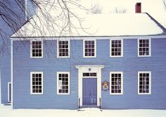 Brabourne Farm: Love .... Blue and White -- not quite cobalt, but a beautiful blue nonetheless