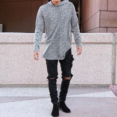 ORO on Instagram: The Fukuro Knit Sweatshirt Sold-out. www.orolosangeles.com #mensfashion