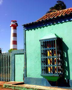 Casa y Faro de Adícora, Edo. Falcón, Venezuela