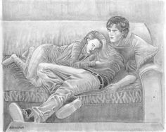 this is a drawing i made about the Hush hush saga (i know, i'm a bit obsessed ) Anyways, this is how i pictured Patch and Nora after the end o. Patch and Nora from Hush, Hush Human Figure Sketches, Figure Sketching, Hush Hush, Saga, Clockwork Angel, Yer A Wizard Harry, Dark Fantasy Art, Book Fandoms, Book Characters