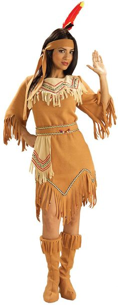 Womens Native Indian Maiden Adult Costume Indian Costumes - Mr. Costumes
