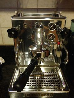 """Expobar Espresso machine.  -Would be great to have atleast two, side by side, to make a """"2 group"""" machine with no chance of both breaking down"""