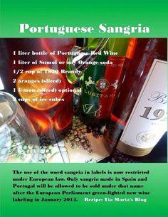 Authentic Portuguese Sangria..., ,