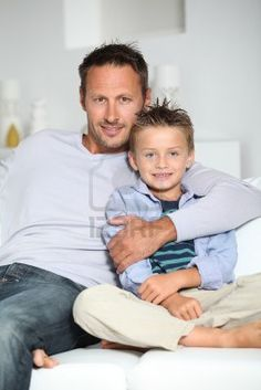 Picture of Closeup of father and son at home stock photo, images and stock photography. Father Son Photography, Children Photography, Family Photography, Father Son Photos, Father And Son, Family Of 3, Family Life, Picture Poses, Picture Ideas