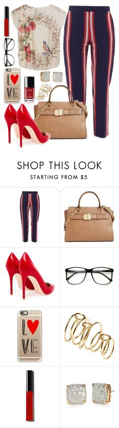 """""""Untitled #277"""" by nacet ❤ liked on Polyvore featuring Stella Jean, Calvin Klein, Gianvito Rossi, ZeroUV, Casetify, H&M, Chanel, Bobbi Brown Cosmetics and Kate Spade"""