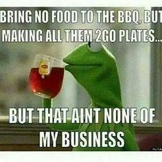 None of my business meme. #kermit