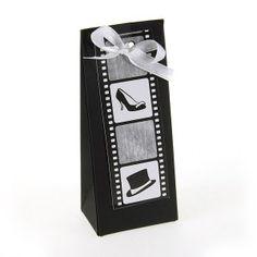 Boites à dragées mariage Cinema zephyr Maxi / Cinema wedding favor box Zephyr maxi