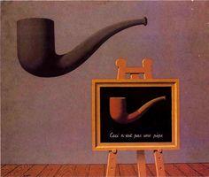 R. Magritte, I due misteri, 1966
