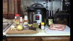Instant Pot Slow Cooker Mustard BBQ Pulled Pork