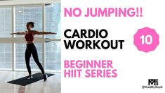No Jumping Cardio Workout at Home // Beginner HIIT // Mr and Mrs Muscle ... Lean Body Workouts, Low Impact Cardio Workout, Killer Workouts, Fun Workouts, Hiit Workouts For Beginners, Beginner Workout At Home, Cardio Workout At Home, At Home Workouts, Workout Men