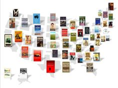 This Map Shows The Most Famous Book Set In Every State by businessinsider: Thanks to @Christina & Silbermann ! #Books #State
