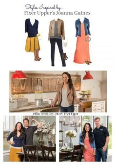 We've put together 3 affordable and simple looks inspired by Joanna Gaines' style to get on trend with the style and comfort of casual basics.