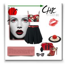 """""""Lips of Summer Love"""" by michelletheaflack ❤ liked on Polyvore featuring Reeds Jewelers, Eugenia Kim, Chloé, Gucci, Linda Farrow, Christian Louboutin, Movado, Dolce&Gabbana and RedShoes"""