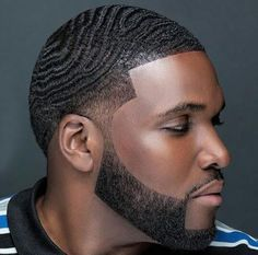40 Topnotch Hairstyles For Black Men Bald Taper Fade, Taper Fade Haircut, Tapered Haircut, Taper Fade With Waves, Low Fade, Black Men Haircuts, Black Men Hairstyles, African Hairstyles, 1940s Hairstyles