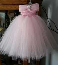 Princess gown by Julia's Bowtique facebook page Girls Dresses, Flower Girl Dresses, Tulle, Gowns, Facebook, Princess, Sewing, Wedding Dresses, Skirts