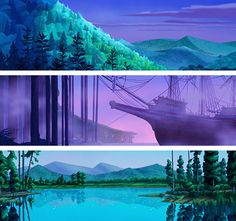 Disney Background Art