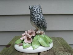 Owl Figurine   Doris by andersonlures on Etsy, $24.00