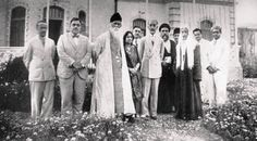 King Faisal of Iraq and King Ali with Dr. Second World, First World, Arab Revolt, Ibn Ali, Baghdad Iraq, Rabindranath Tagore, Bagdad, India People, Kid Movies