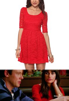 ah there is a website just for clothes worn on glee! stoked.