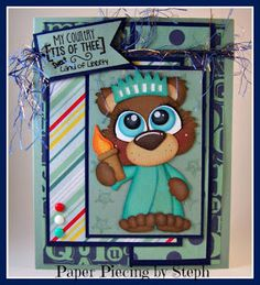 """I added """"Paper Piecing by Steph: Sweet Land of Liberty"""" to an #inlinkz linkup!http://stephanie-scraps.blogspot.com/2015/07/sweet-land-of-liberty.html"""