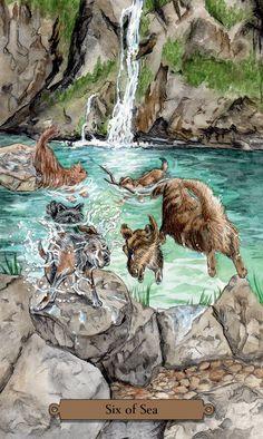 Amazon | Magical Dogs Tarot | Mickie Mueller, Dan Mueller | Tarot
