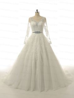 High Quality Long Sleeves Lace Wedding Dress A-Line Handmade Bridal Gowns White Or Ivory Lace Wedding Dresses With Veil LC215   1.About this cheap prom dresses, please see following detailed information. Fabric:Lace Closure: Zipper or lace up  Fully Lined: Yes  Built-In Bra: Yes  Boning: Yes  Tailoring Time: 2 weeks-3weeks  Shipping Time: 4-7 days  2, Color: picture color or other colors, there are 126 colors are available, please contact us for more colors.  3, Size: standard size or custom…