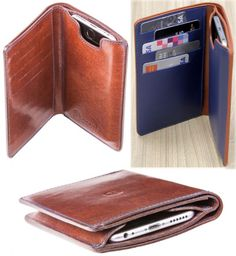 This leather wallet and iPhone 6 case is Apple-Pay compatible
