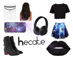 """""""Hecate"""" by leenybean1509 ❤ liked on Polyvore featuring Christian Louboutin, Ted Baker, Jules Smith and Beats by Dr. Dre"""
