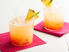 Sandra's Pineapple Cocktail. #RecipeOfTheDay