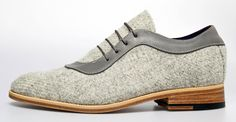 The Style Examiner: Govan Originals New Men's Shoes in Collaboration with Harris Tweed Hebrides