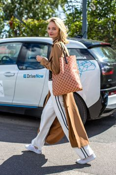 36 chic outfit ideas to take from the street style scene at Copen Hagen Fashion Week Spring 2017.