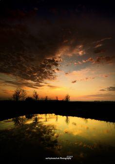 End of Sunset near the Lake by frayart.deviantart.com on @deviantART