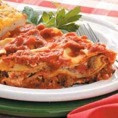 Saucy Skillet Lasagna..Easy and delicious :-)