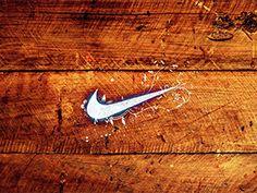 Fondo de Pantalla de Nike madera