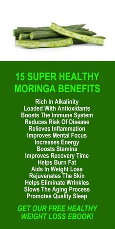 15 Super Healthy Benefits Of Moringa. Get our FREE weight loss eBook with suggested fitness plan, food diary, and exercise tracker. Learn about Zija's alkaline rich, antioxidant loaded, weight loss products that help your body detox, cleanse, increase ene (Increase Energy)