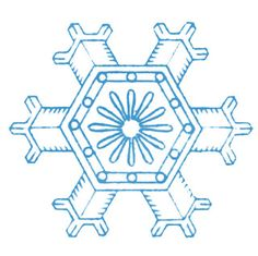 Vintage Winter Clip Art – More Lovely Snowflakes