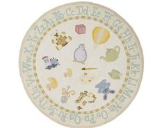 Lil Mo Classic Pale Yellow 2 Rug